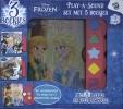 ,Disney Frozen - Set met drie geluidenboekjes