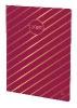 ,WEEKLY L 15x21 2019 Iris gestreift rosa
