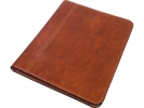 ,schrijfmap Pacor Pamero A4 Victioria cognac kunstleder      32x24,5x2cm