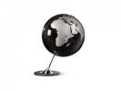 ,globe Anglo Black 25cm diameter metaal / chrome
