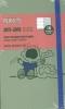 ,Moleskine 18 Monate Peanuts Wochen Notizkalender 2018, A6 Hard Cover, Grün