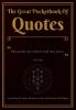 Bono J.H. Heijnen Jean-Pierre  Doran  Richard van der Ark,The Great Pocketbook Of Quotes