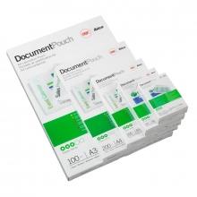 , Lamineerhoes GBC overheids card 65x95mm 2x250micron 100stuks