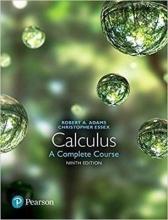 Robert A. Adams,   Christopher Essex Calculus: A Complete Course