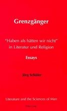 Schäfer, Jörg Grenzgänger