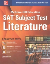 Muntone, Stephanie McGraw-Hill Education SAT Subject Test Literature