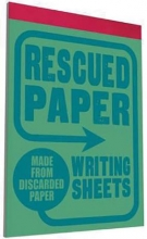 Sukie Rescued Paper Writing Sheets