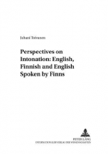 Juhani Toivanen Perspectives on Intonation: English, Finnish and English Spoken by Finns
