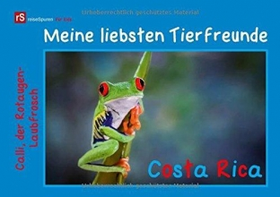 Uwe Bergwitz, Andrea Meine liebsten Tierfreunde - Costa Rica (Posterbuch DIN A4 quer)