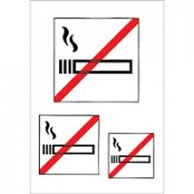 , Etiket Herma 5736 niet roken 3stuks