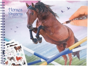 10295 a Horses dreams drawing books