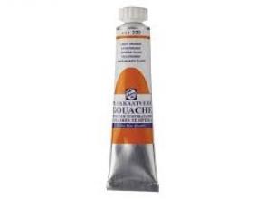 , Talens plakkaatverf tube 20 ml lichtoranje 236