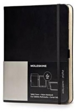 Moleskine Ipad Air Cover, Black & Volant Reporter Notebook