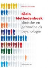 Florence J. van Zuuren Klein methodenboek klinische en gezondheidspsychologie