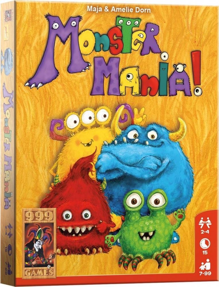999-mma01,Monster mania - kaartspel - 999 games
