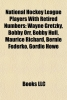 , National Hockey League players with retired numbers