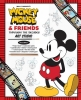 <b>Gerstein, David</b>,Walt Disney`s Mickey Mouse & Friends Through the Decades Art Studio