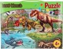 ,<b>Dino world puzzel - 50 stukjes - 58 x 40 - 4+</b>