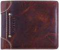 <b>Ma-ran-110-03</b>,Maverick ranger billfold kleingeldvak bruin