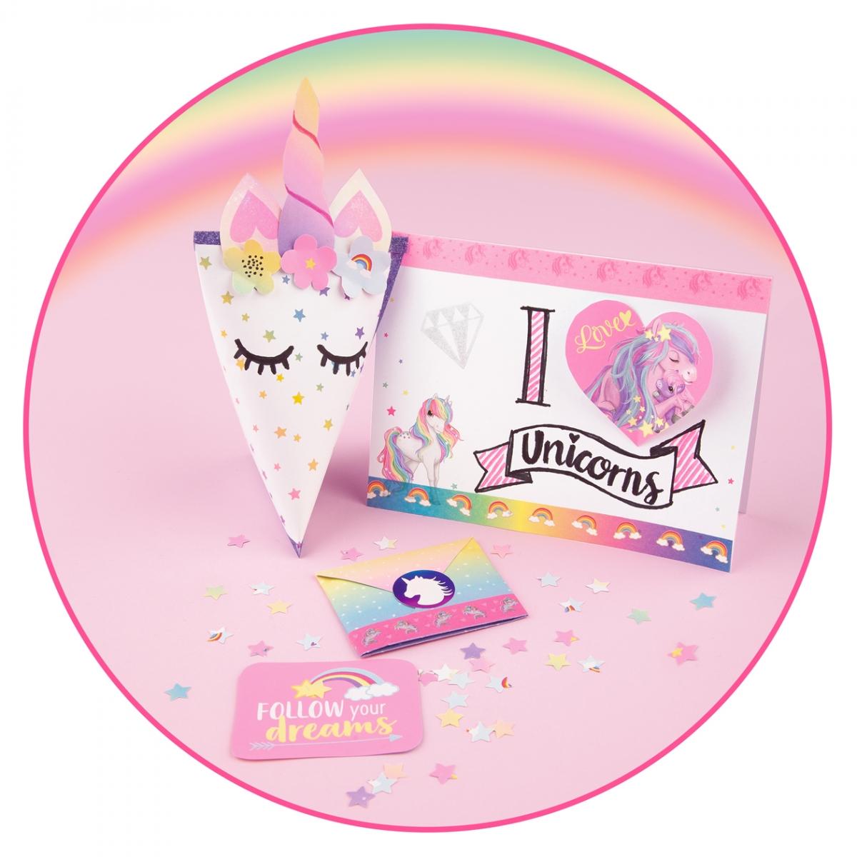 ,Ylvi and the minimoomis unicorn love letter set