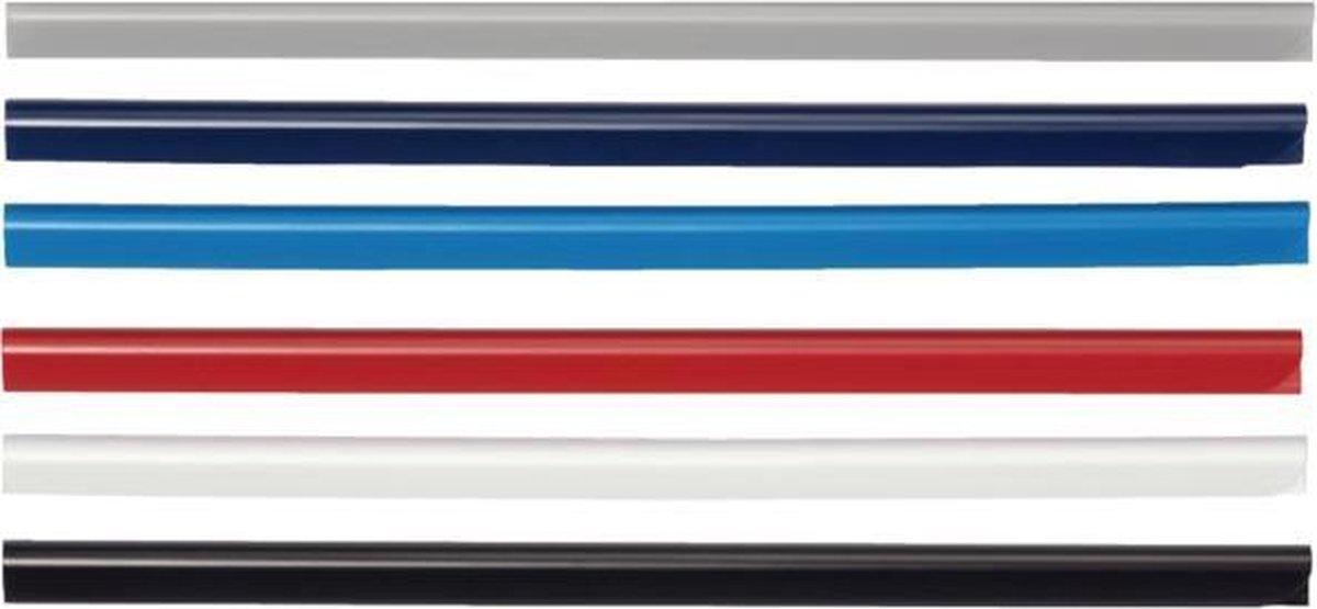 ,Klemrug Durable A4 5/6mm blauw