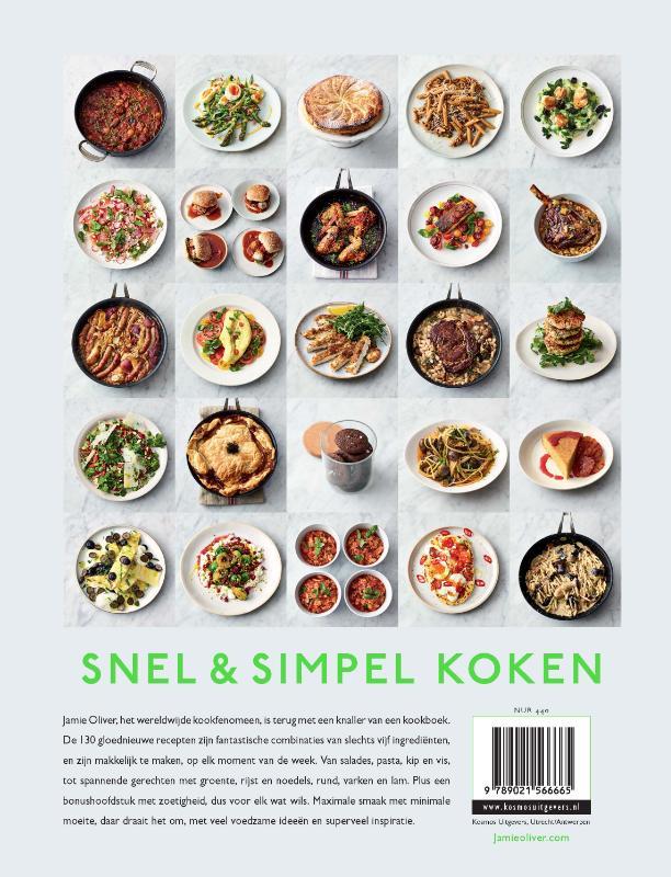 Jamie Oliver,Jamie Oliver - 5 ingredienten