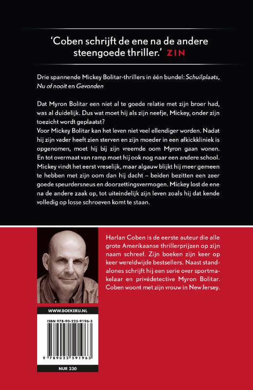 Harlan Coben,3 x Mickey Bolitar