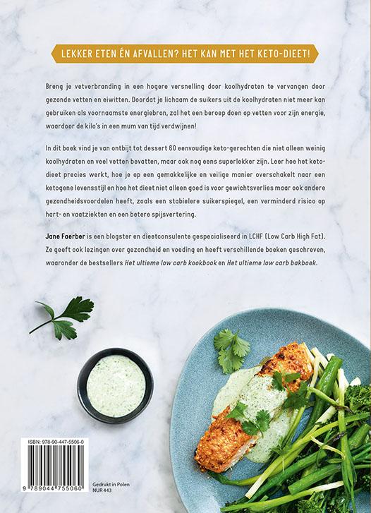 Jane FAERBER,Het complete keto-dieet kookboek