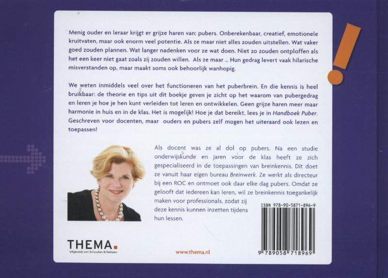 Ria van Dinteren,Handboek puber