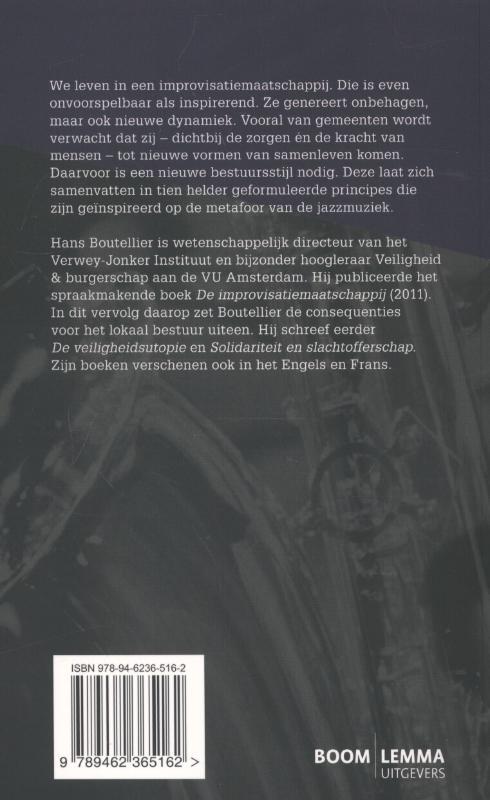 Hans Boutellier,Lokaal bestuur in een improvisatiemaatschappij