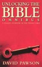 David Pawson Unlocking the Bible