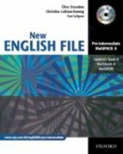 English File - New Edition. Pre-Intermediate. Student`s Book. Workbook with Key und CD-Extra
