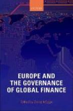 Daniel (Associate Professor in Political Economy, Associate Professor in Political Economy, University of Amsterdam) Mugge Europe and the Governance of Global Finance