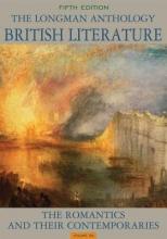 Damrosch, David The Longman Anthology of British Literature 3 Volume Set