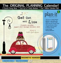 Get Out and Live 17 Month 2017 Plan-it Calendar