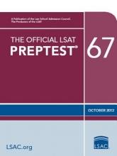 Law School Admission Council The Official LSAT Preptest 67