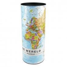 Wereld puzzel mi