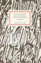 Masereel, Frans Holzschnitte gegen den Krieg