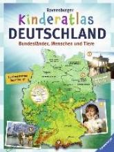 Schwendemann, Andrea Ravensburger Kinderatlas Deutschland