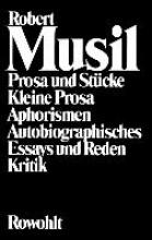 Musil, Robert Gesammelte Werke