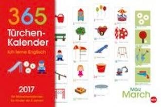 365-Trchenkalender Kinder: Ich lerne Englisch 2017