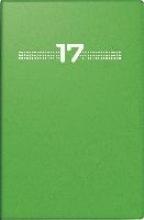 Taschenkalender partner 2017 PVC grn