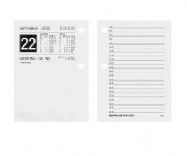 Umlegekalender-Ersatzblock 2018 Nr. 336-0000