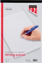 , Schrijfblok Quantore A4 gelinieerd