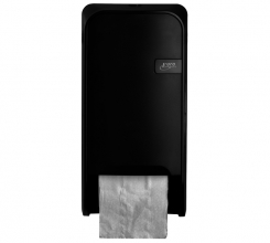 , Dispenser Euro Quartz toiletrolhouder doprol zwart