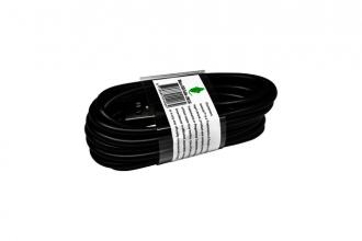 , Kabel Green Mouse USB Micro-A 2.0 2 meter zwart