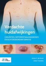 Johan Toonstra Anton C. de Groot, Verdachte huidafwijkingen