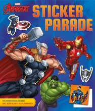 , Avengers Sticker Parade