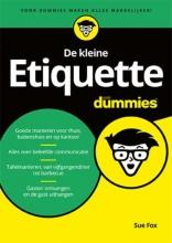 Sue  Fox De kleine Etiquette voor Dummies