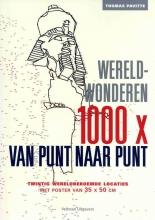 Thomas  Pavitte 1000 x van punt naar punt - Wereldwonderen